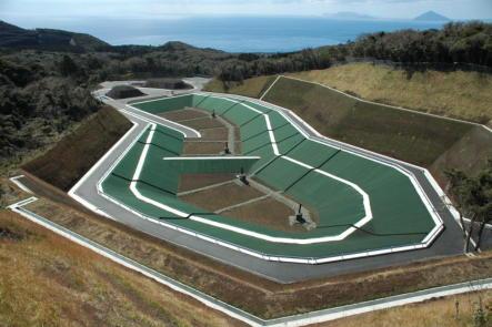 大島一般廃棄物管理型最終処分場見学